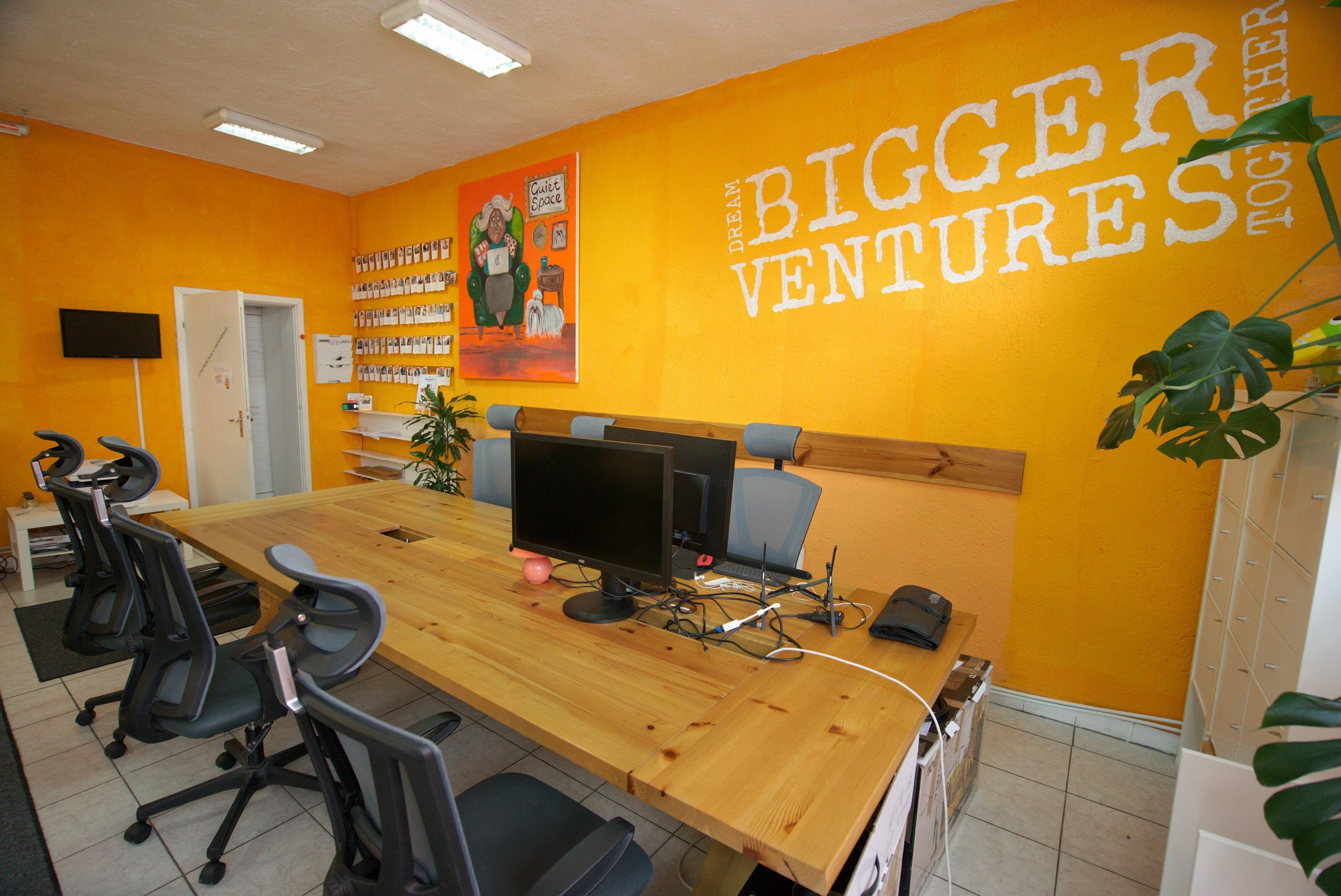 l'espace de calme du coworking bansko