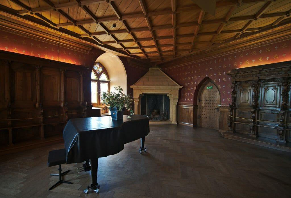 intérieur château de grandson