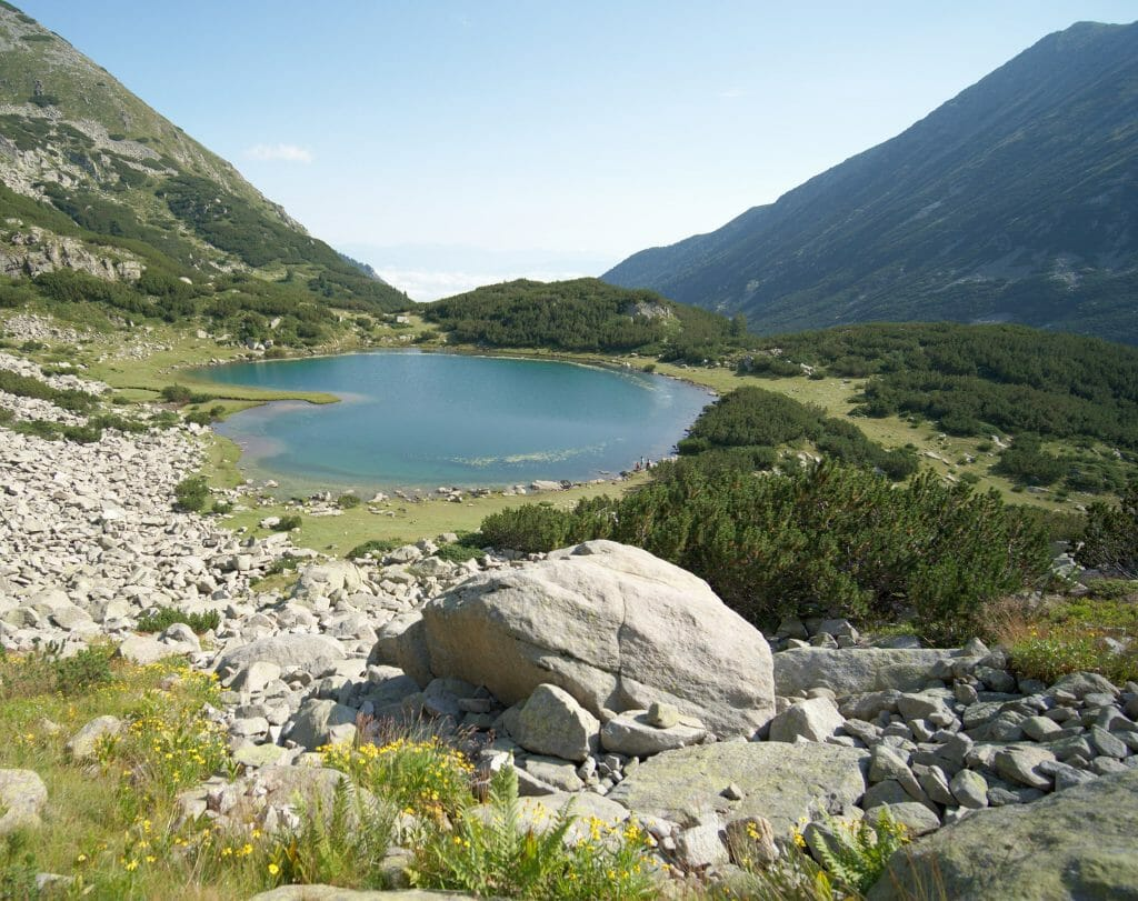 lac de montagne, pirin