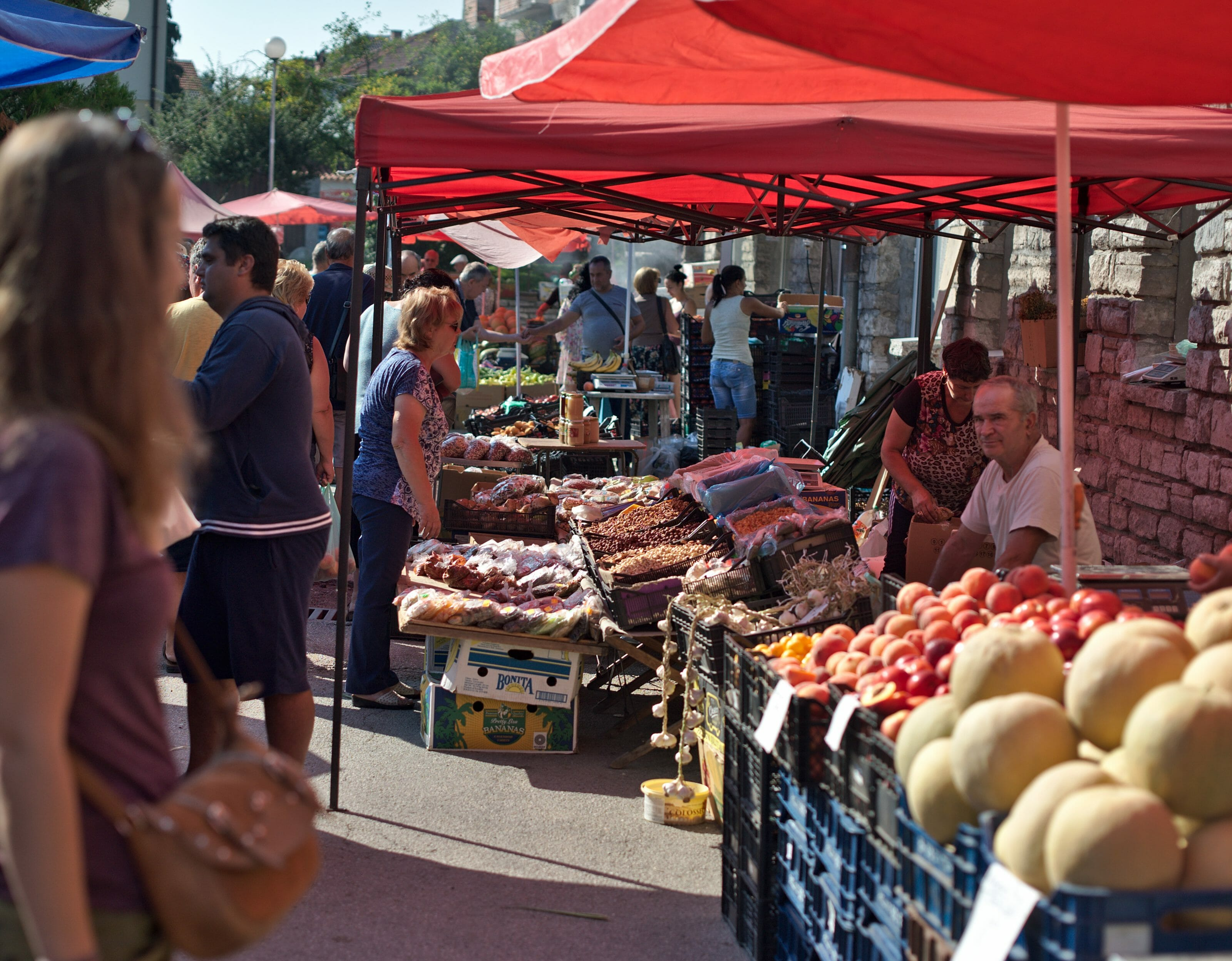 Bansko sunday market