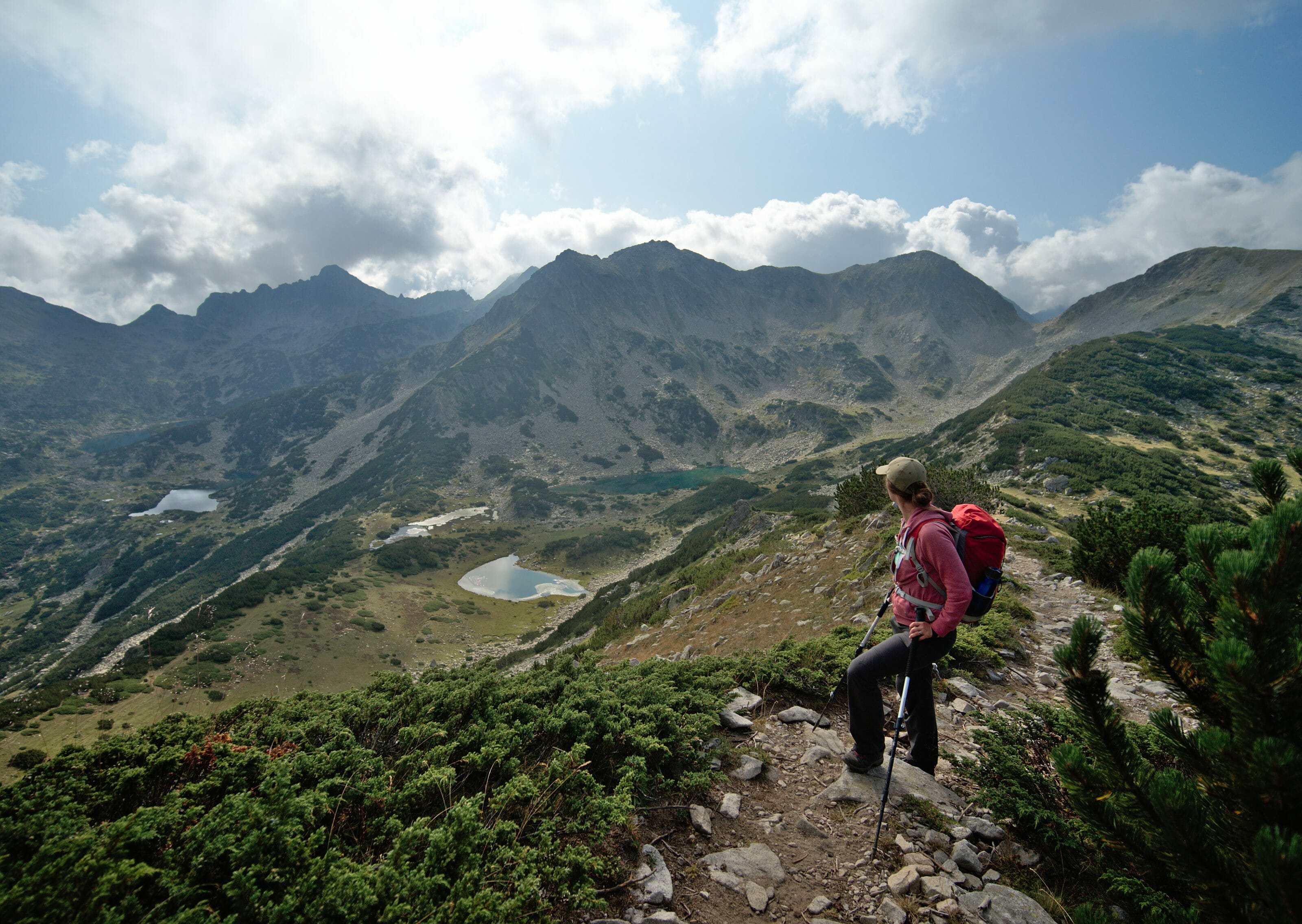 pirin national park panorama
