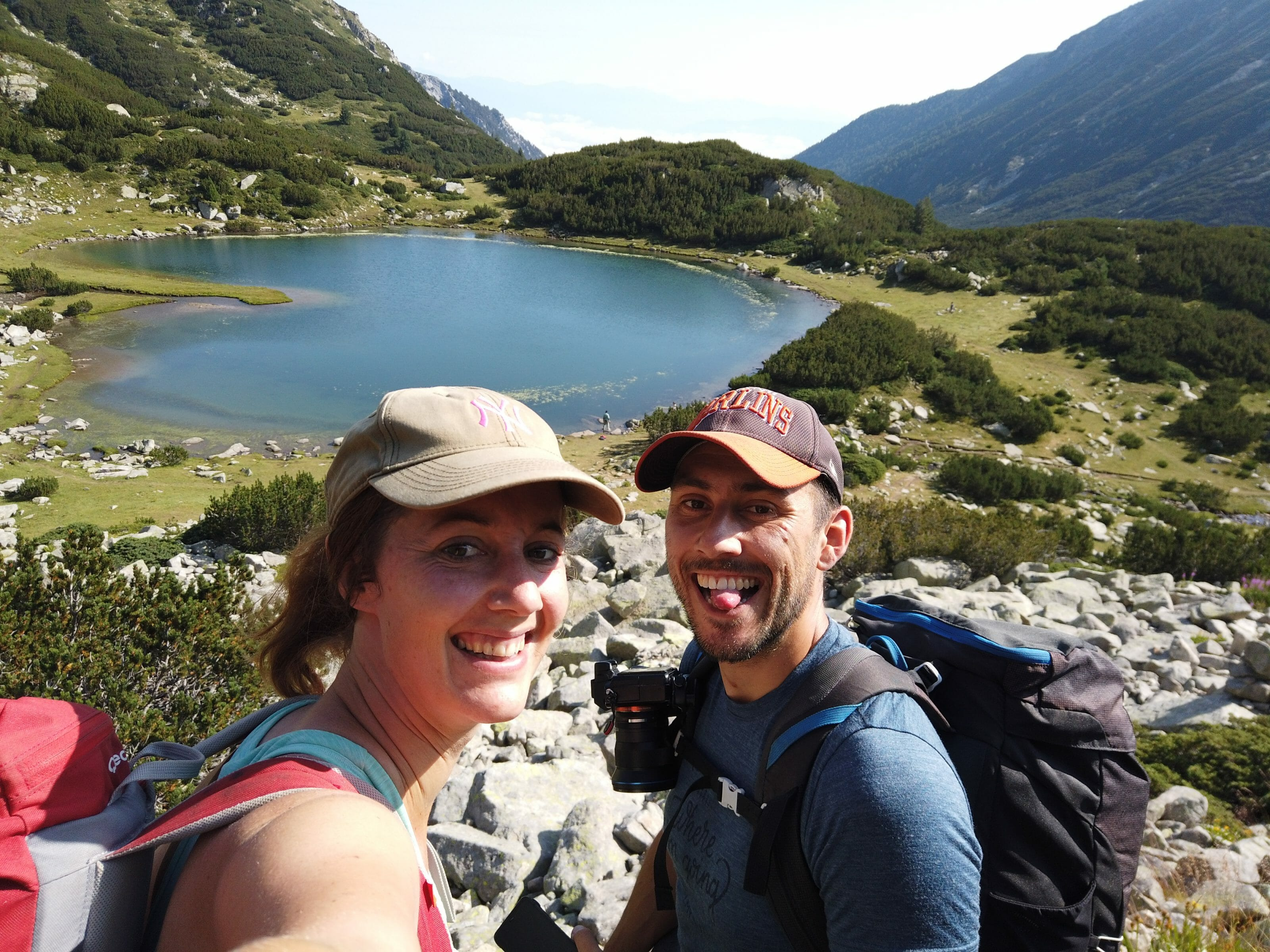 selfie in the pirin mountains