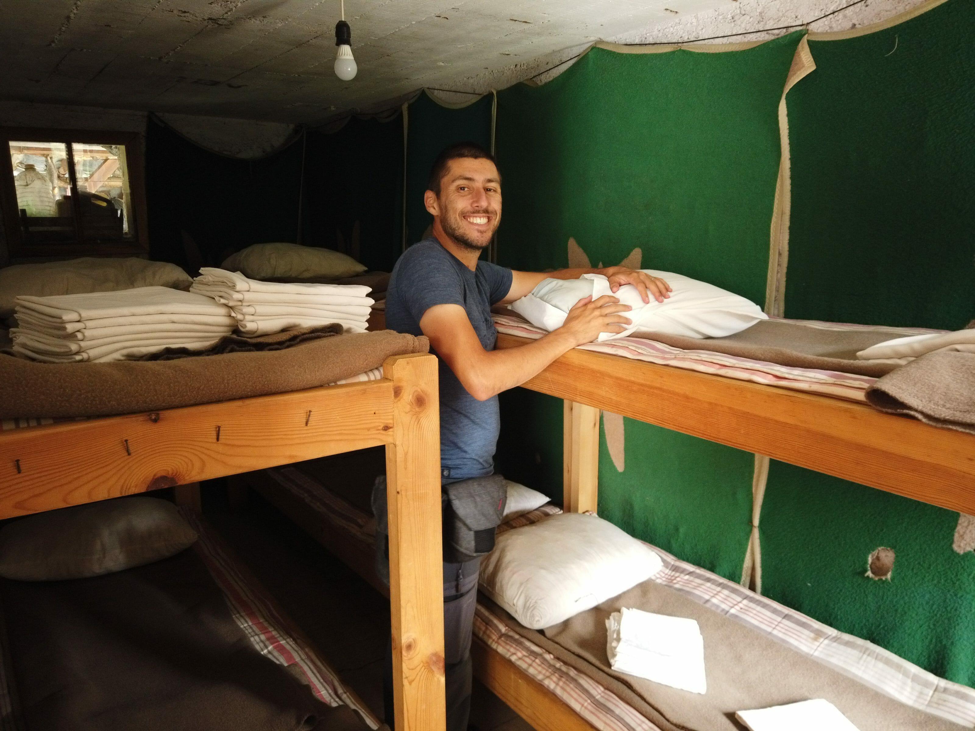 dortoir refuge sinanitsa
