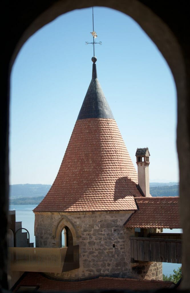 tour chateau de grandson