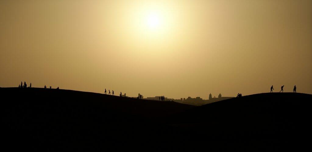 coucher de soleil gran canaria