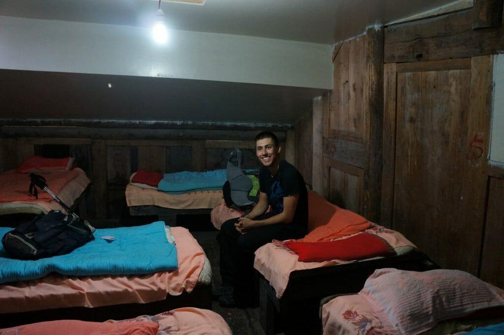 dortoir monastère