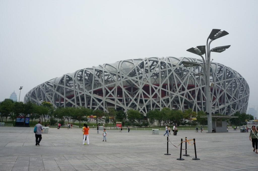 stade olympique à pékin