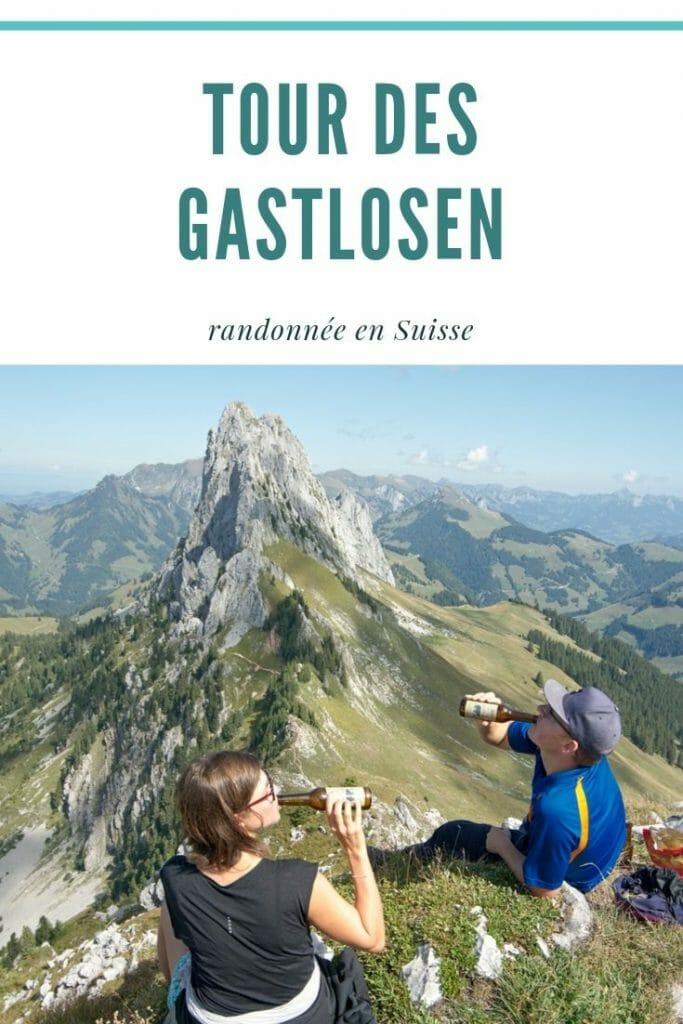 le tour des Gastlosen en Suisse