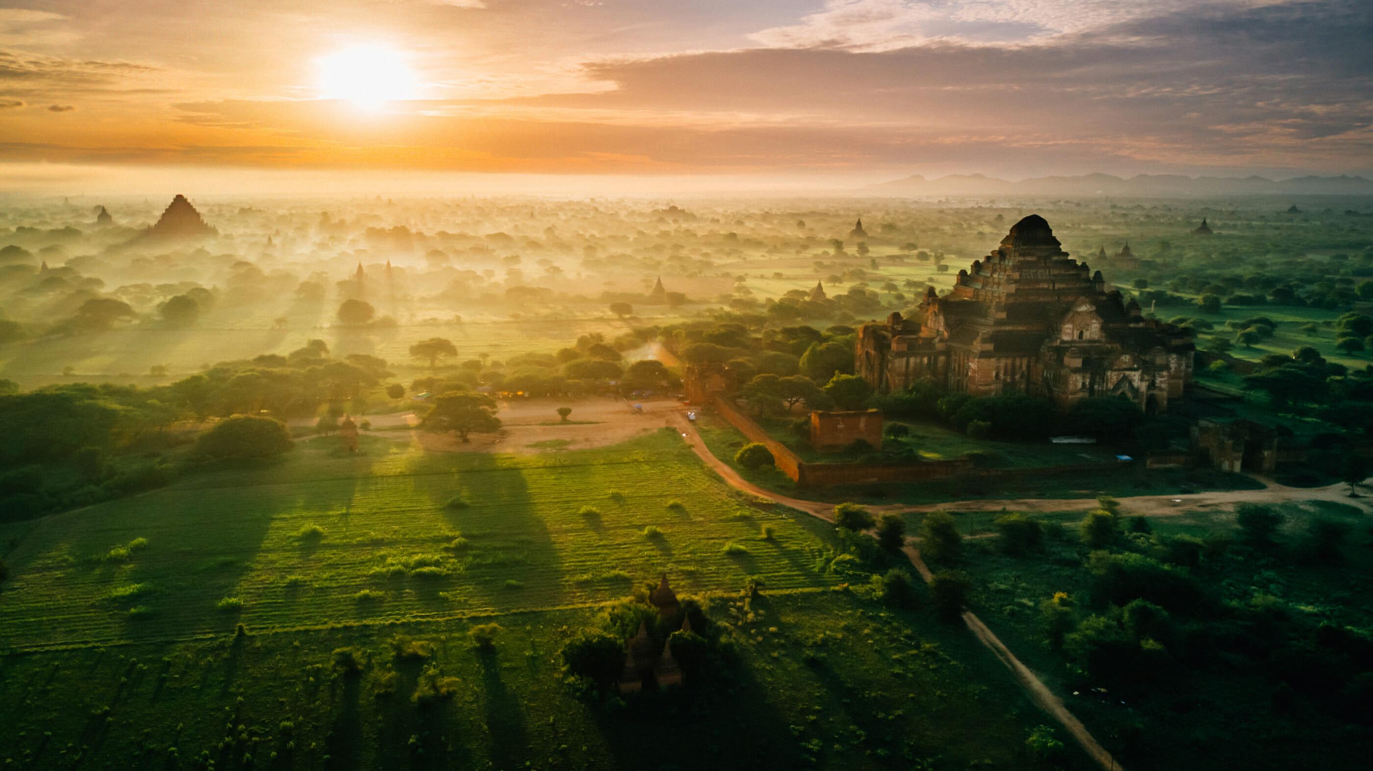 tour du monde Bagan