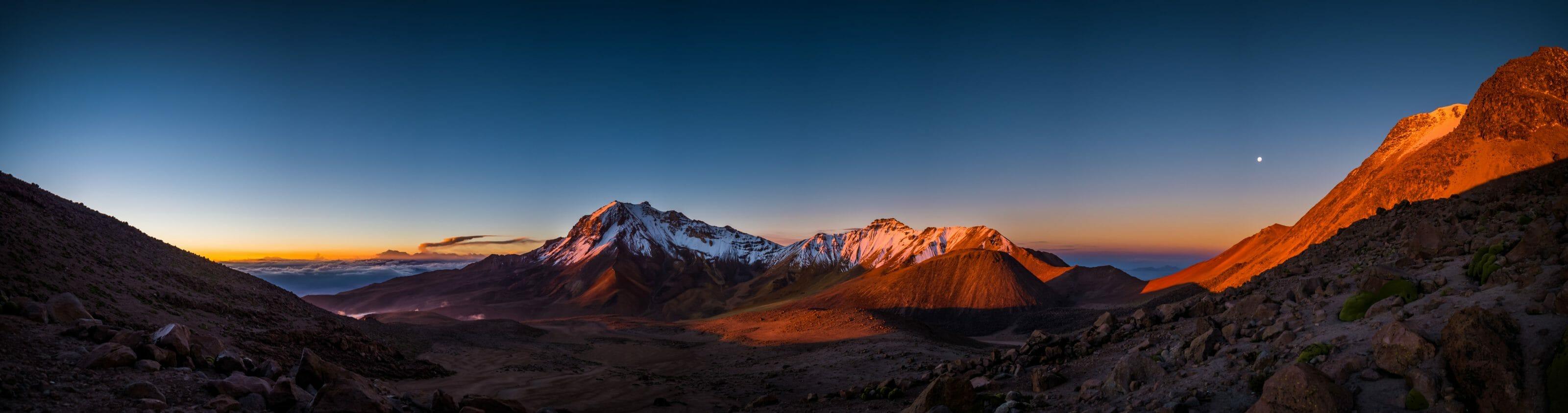 montagnes 6000m tour du monde