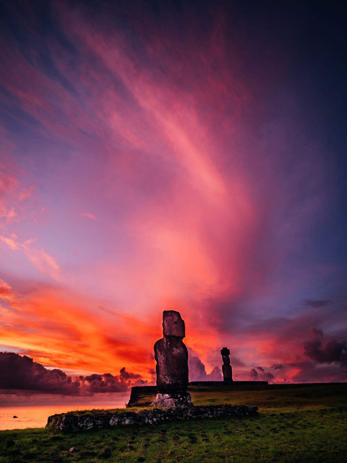 easter island round the world trip