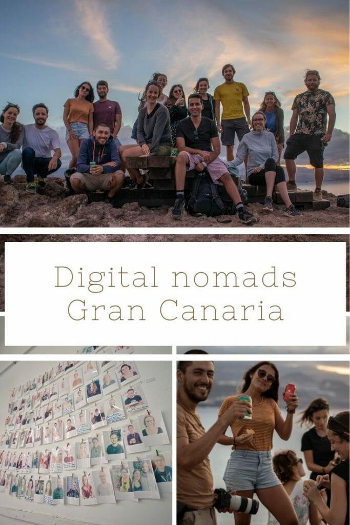 Digital nomads Gran Canaria