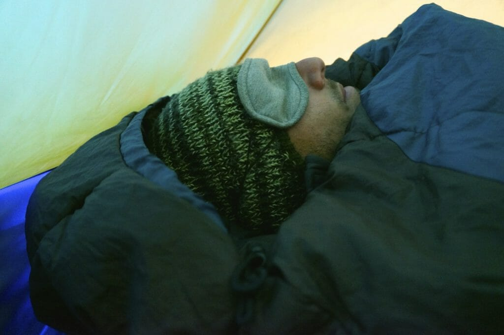 camping quand il fait froid