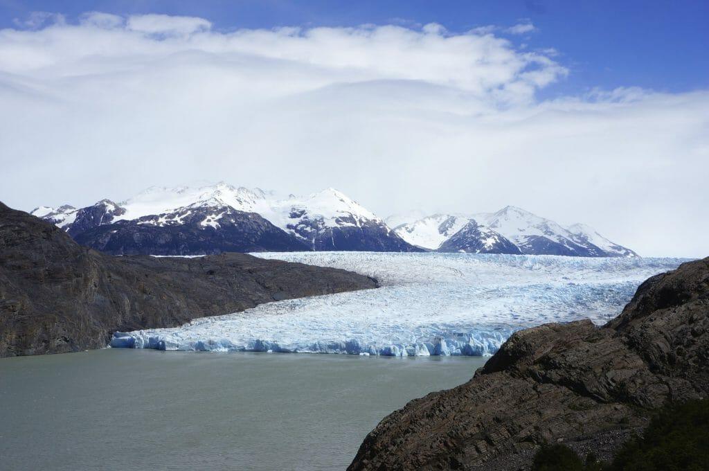 glacier en patagonie