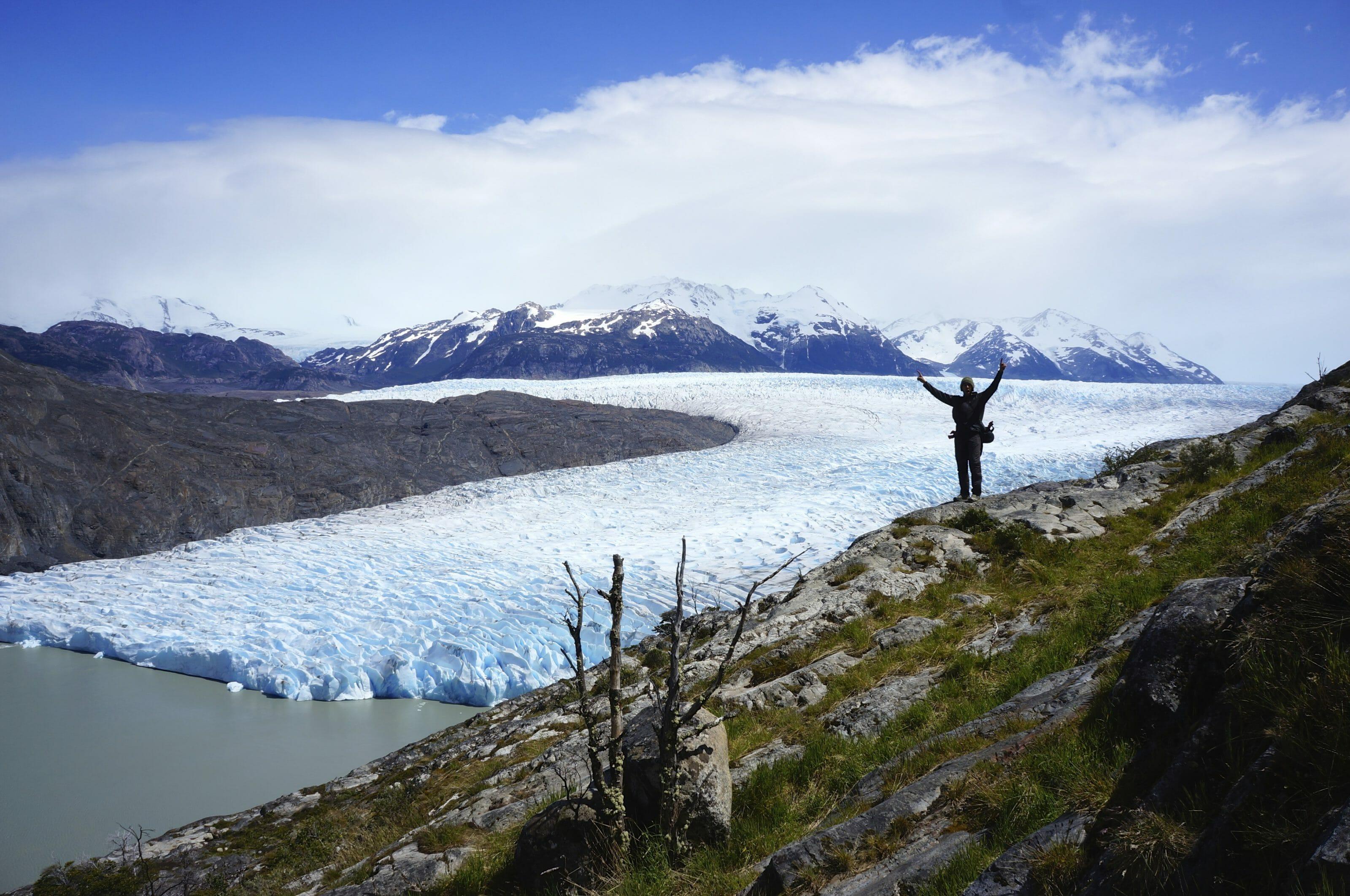 photo de glacier