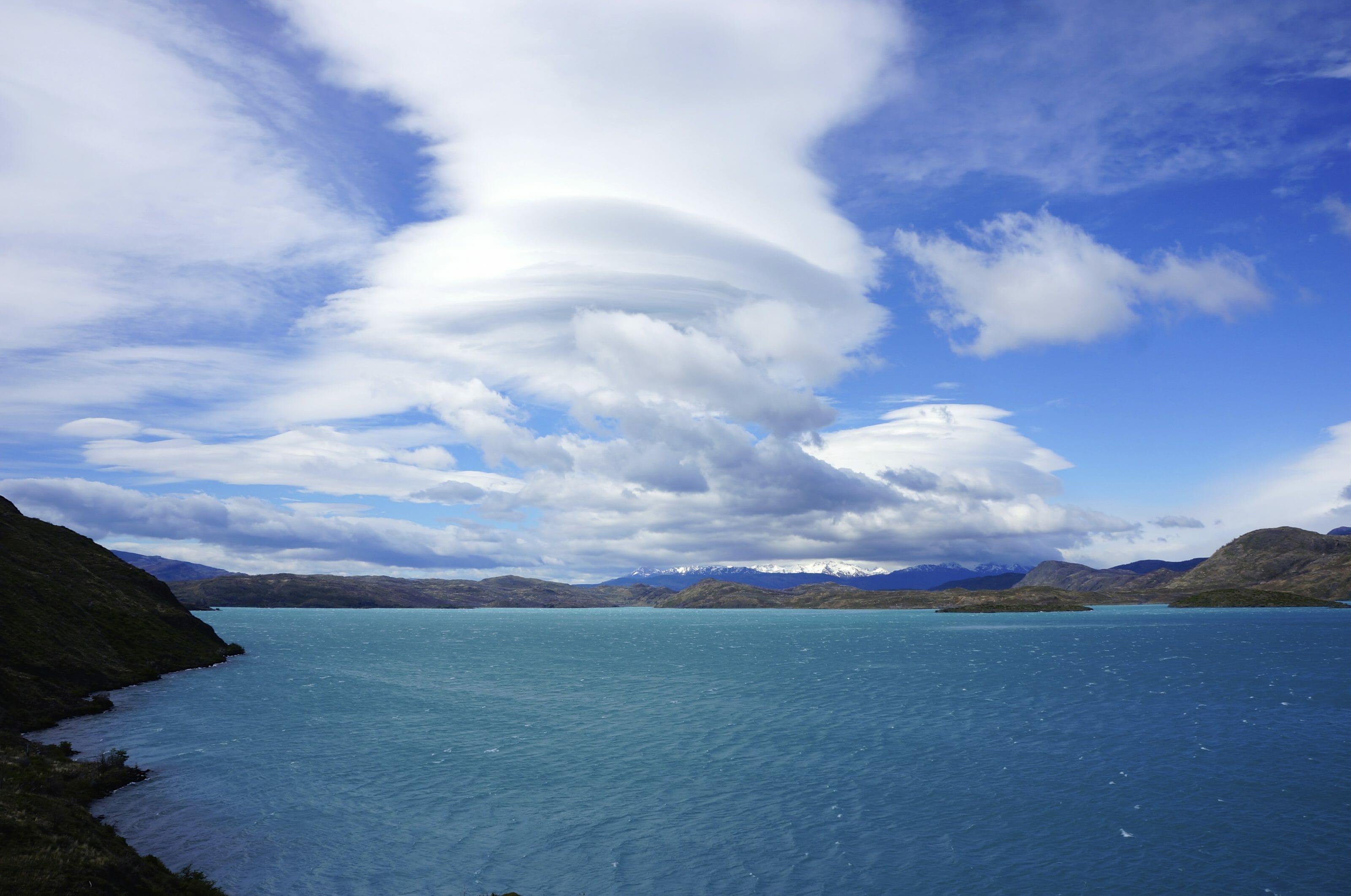 nuages en patagonie