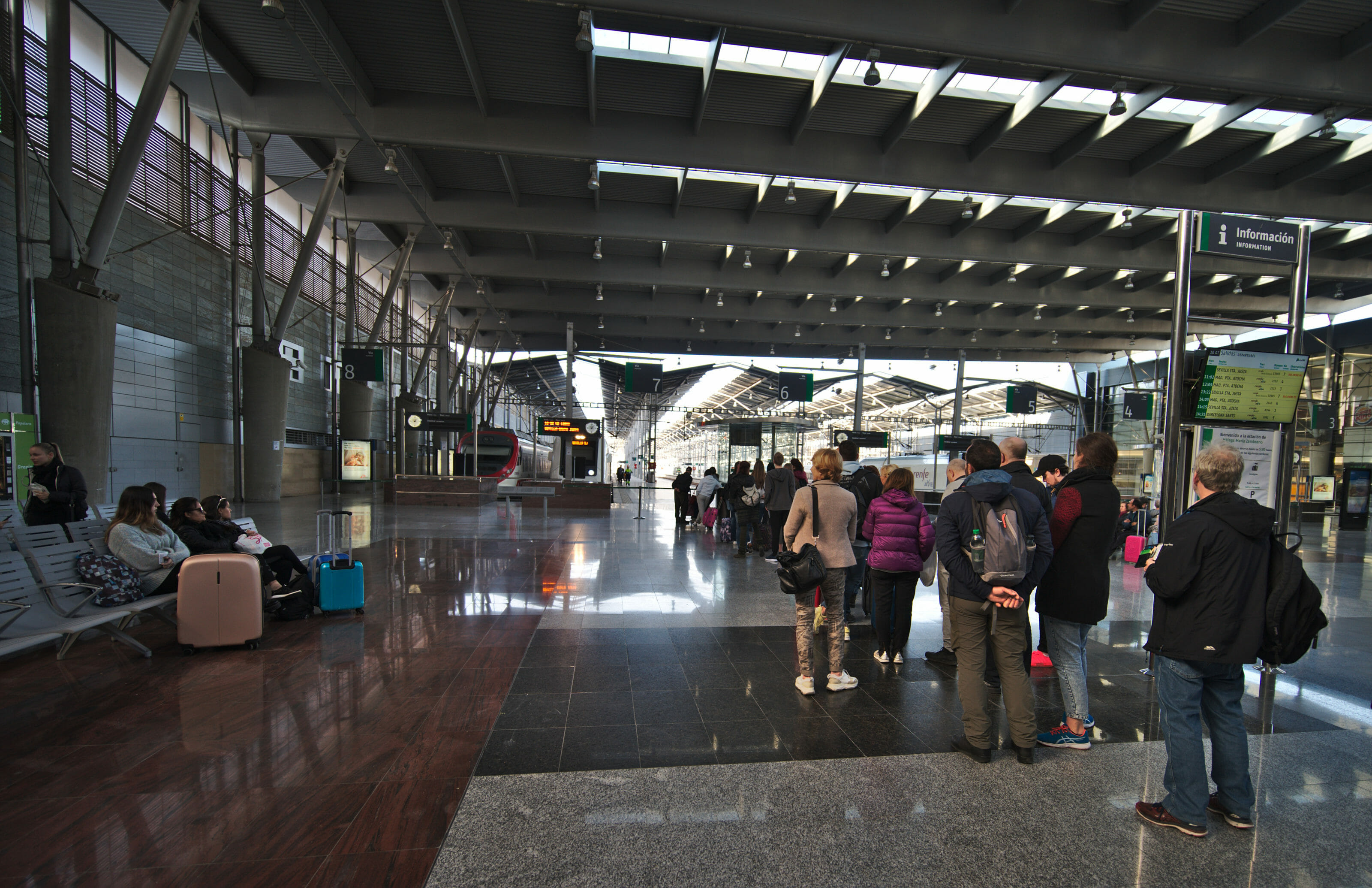 train station malaga