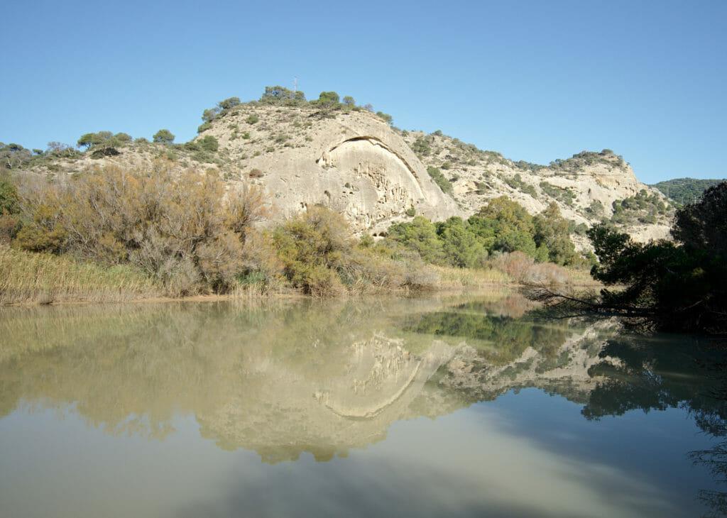 lac en andalousie, malaga