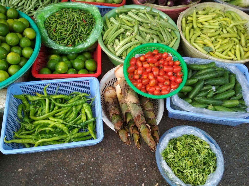 marché au Vietnam tour du monde