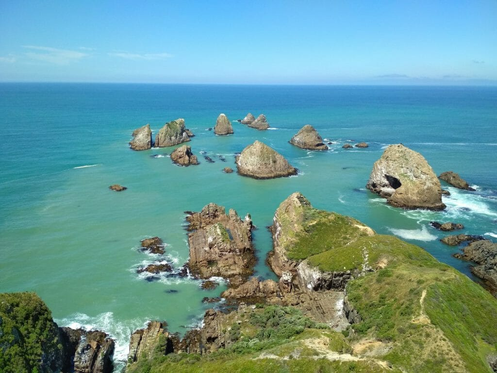 nugget point en nouvelle zélande