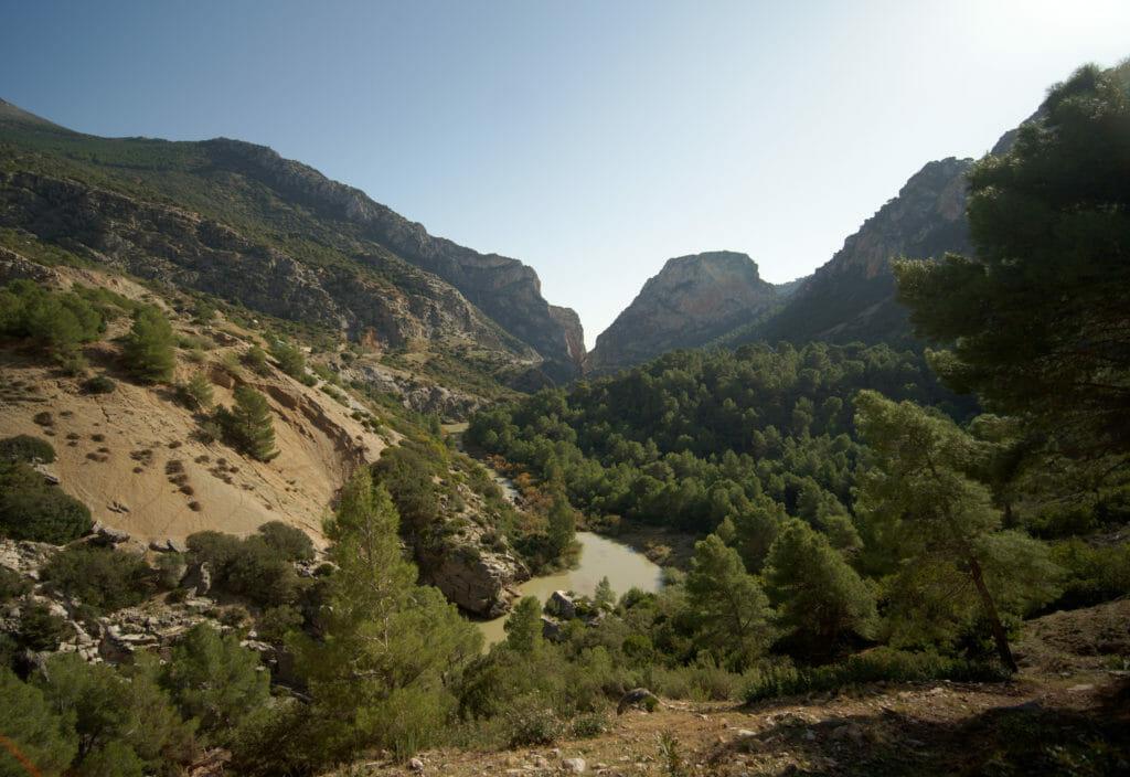 paysages malaga