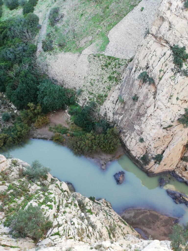 rivière en espagne