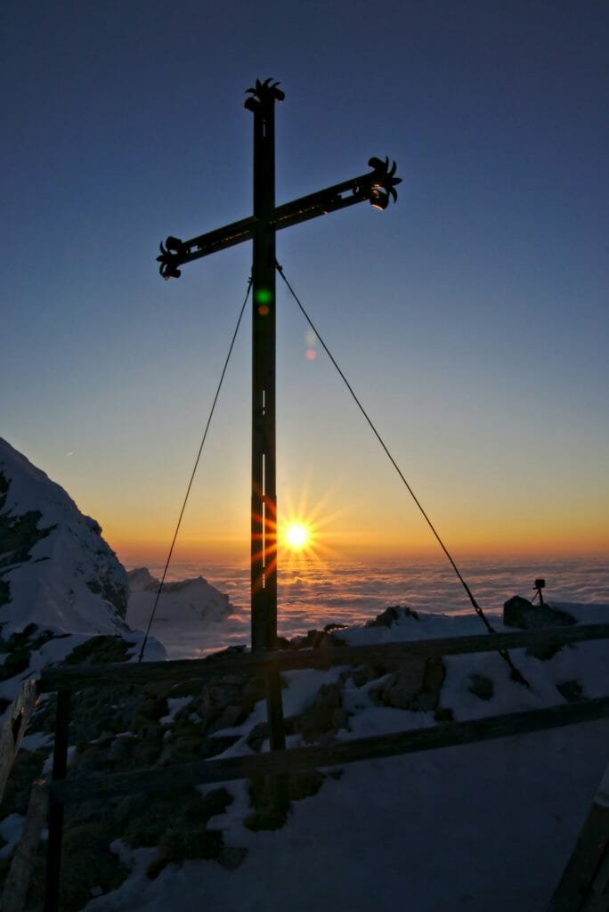 coucher de soleil au pilatus