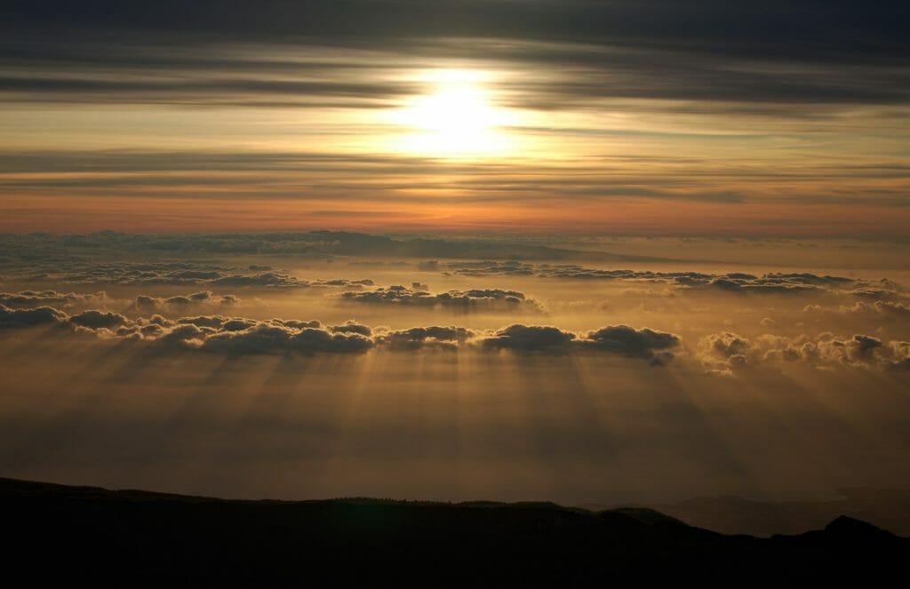 sunrise teide