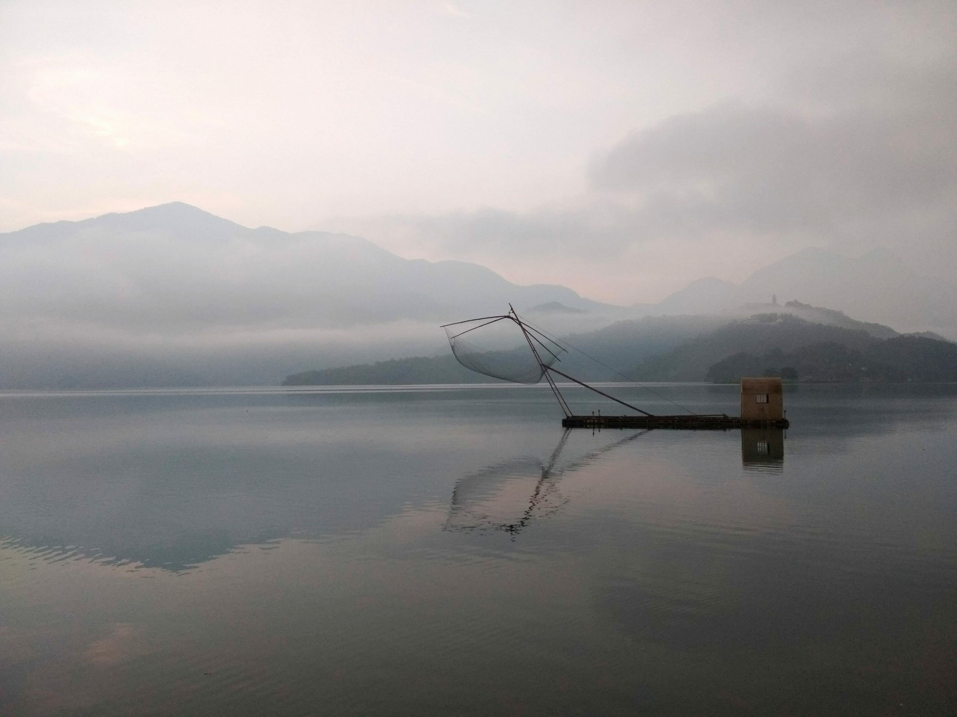le sun moon lake de Taiwan tour du monde