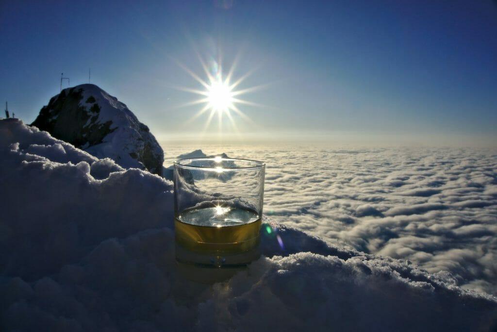 whisky sur le pilatus