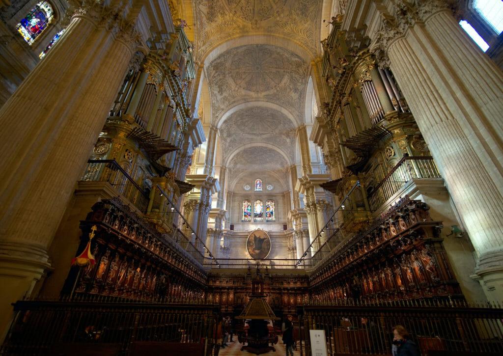 les orgues de la cathédrale de Malaga