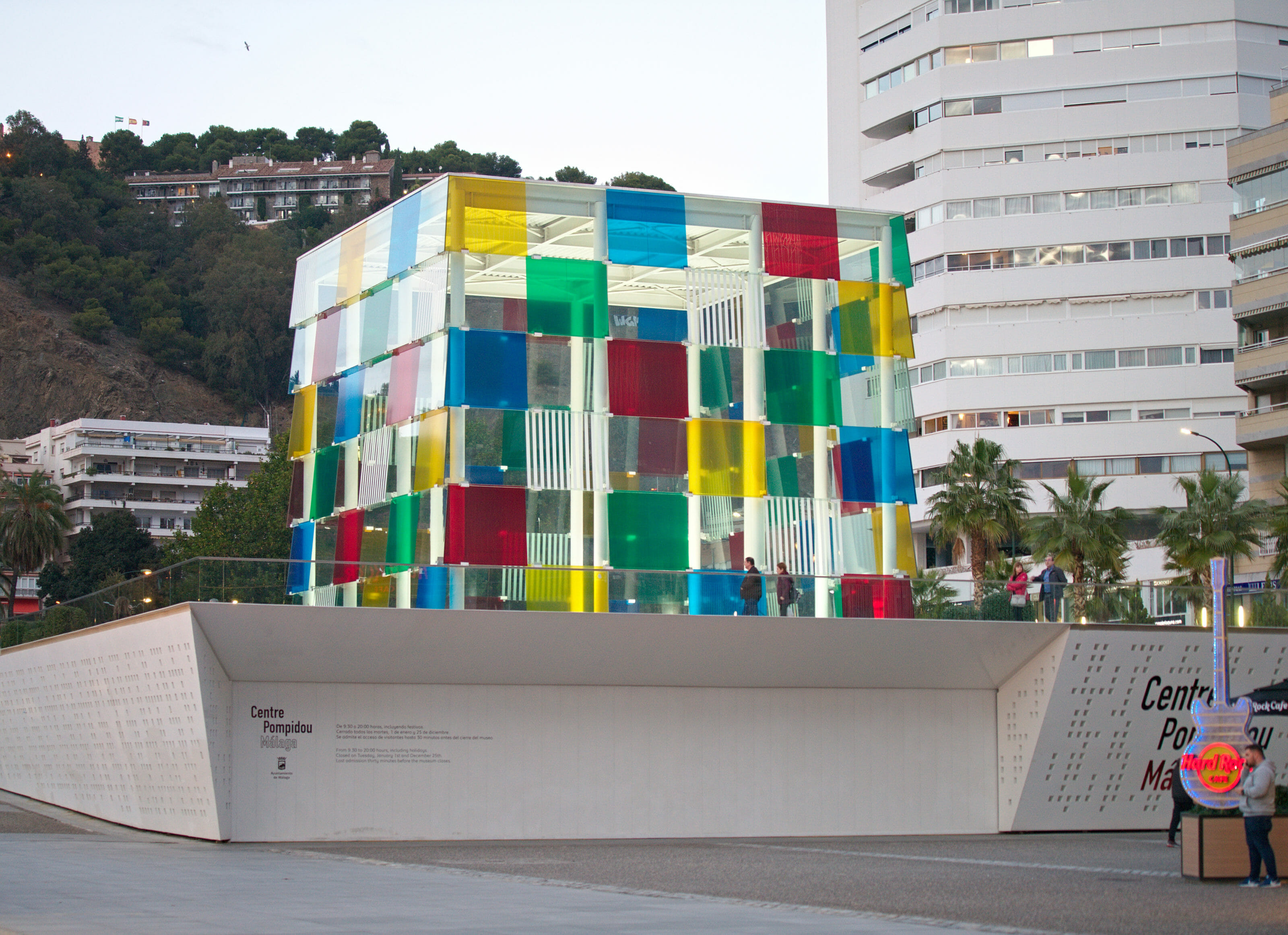 musée pompidou malaga