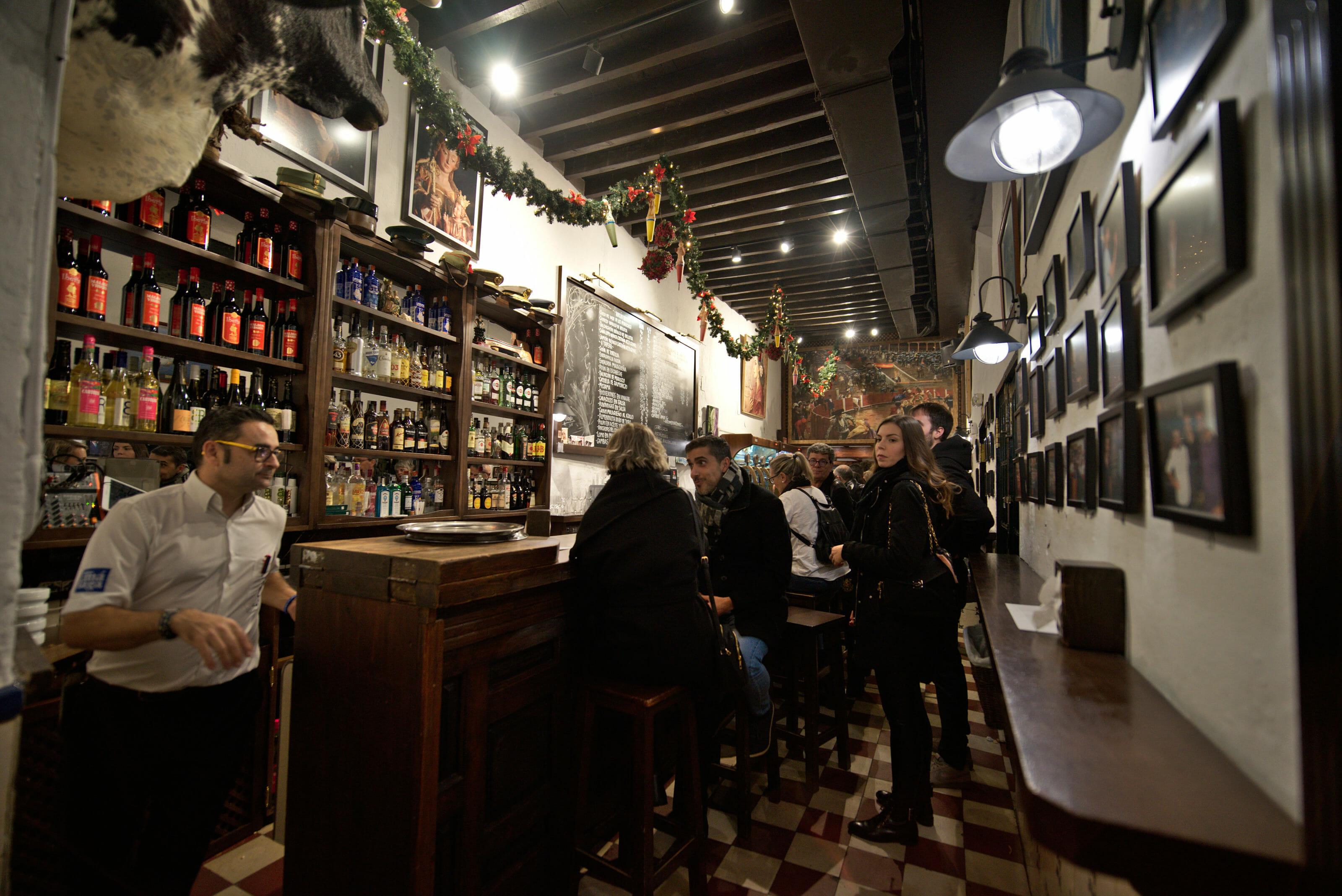 restaurant el pimpi in Malaga