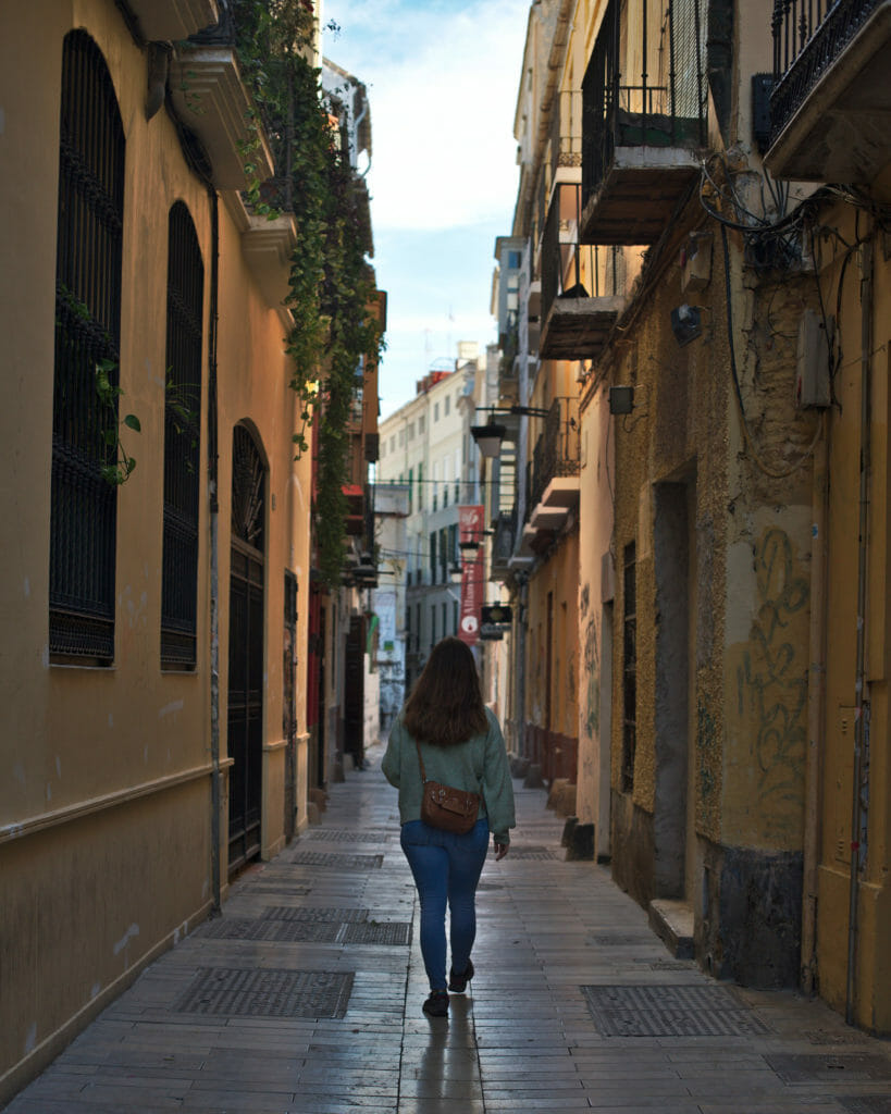 ruelle du centre historique de Malaga