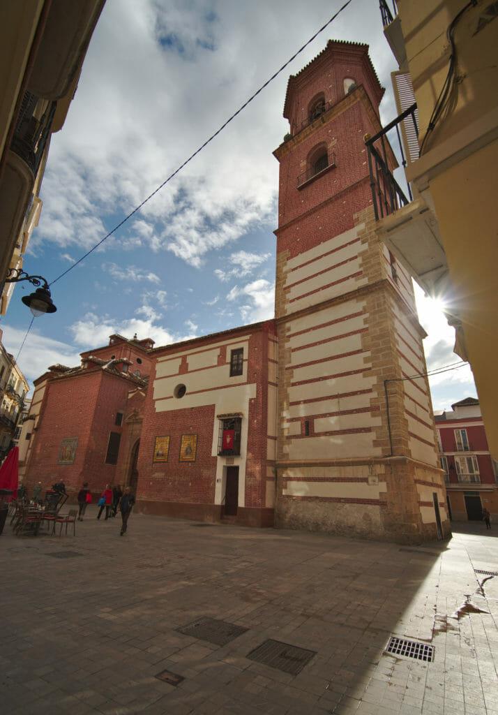 batiments d'influence arabe à Malaga