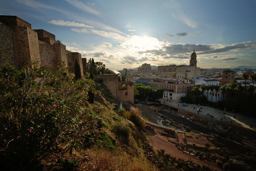 mirador de l'Alcazaba