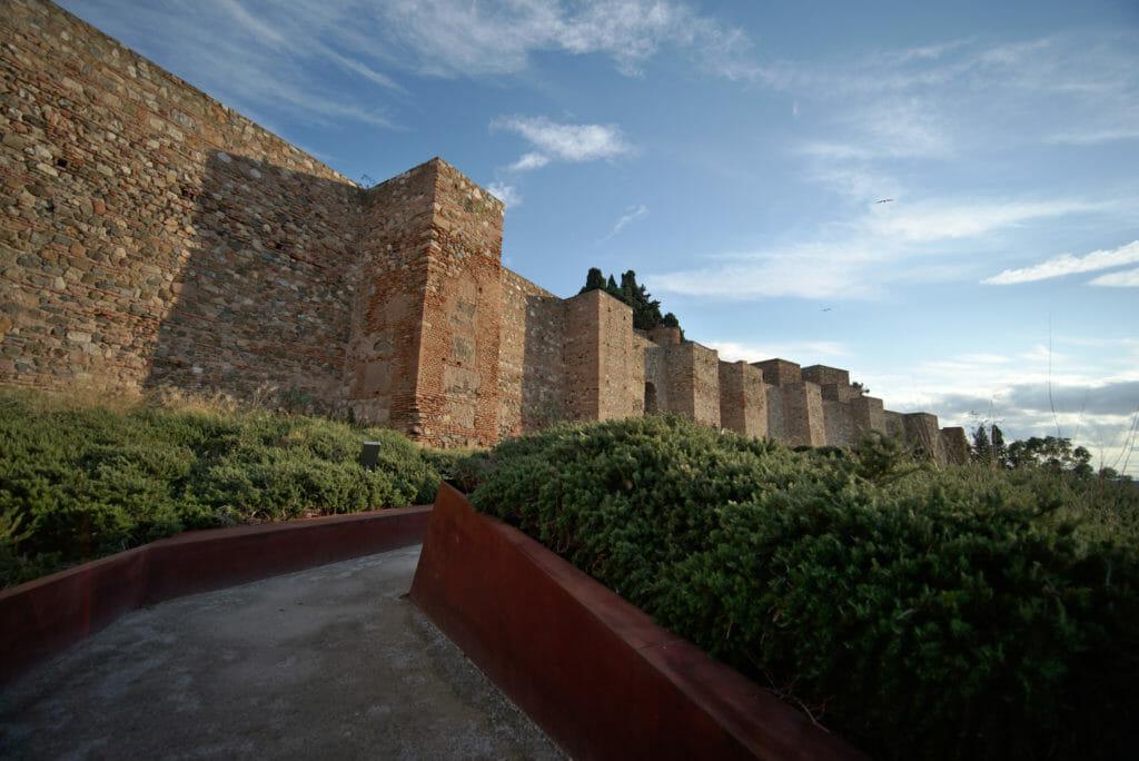 rempart de l'Alcazaba