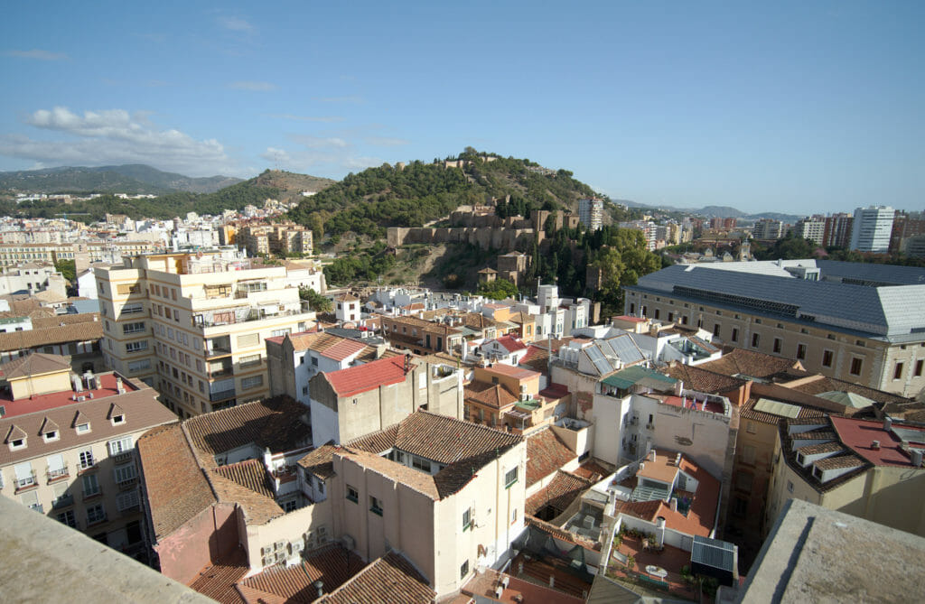 vue depuis le toit de la cathédrale