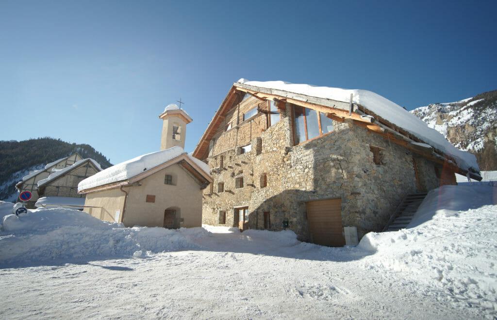 hameau du Laus à Cervières