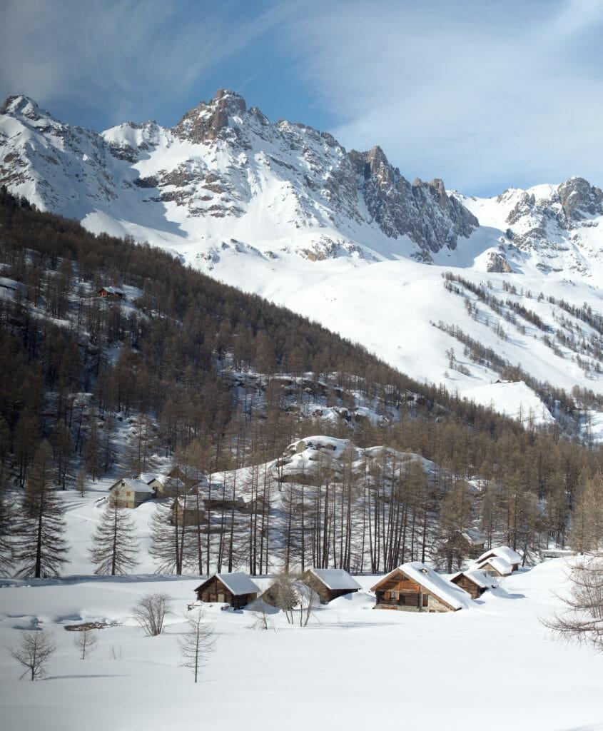 petit hameau de montagne