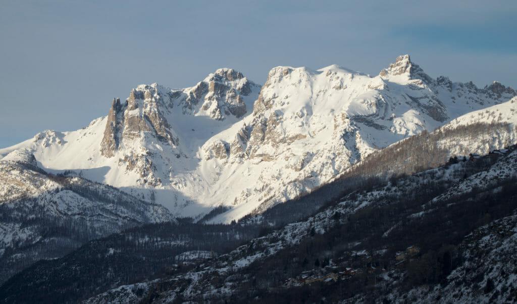 montagnes du parc national des Ecrins