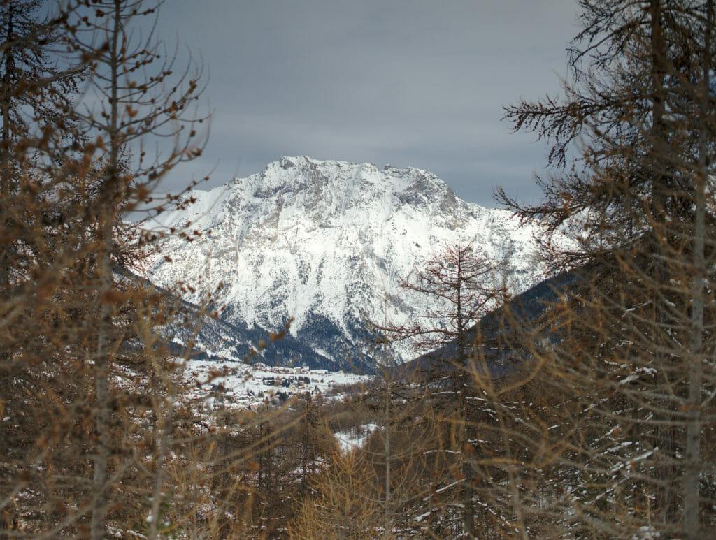 hautes alpes en hiver