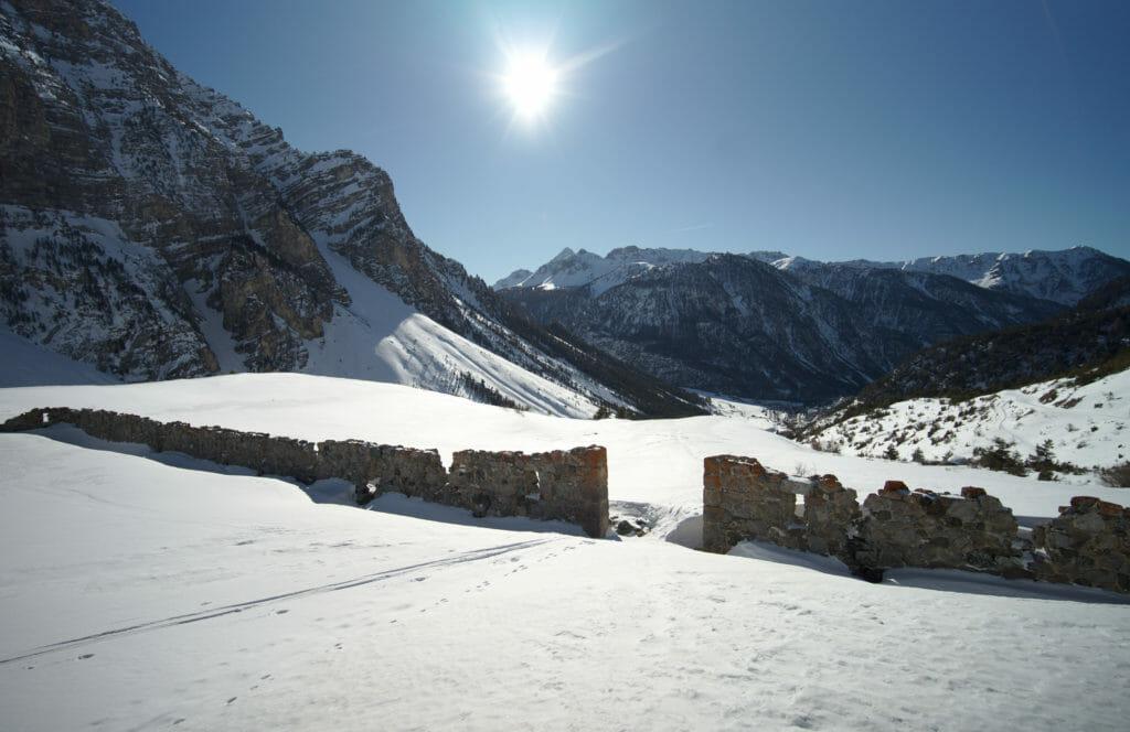 mur des aittes à cervieres