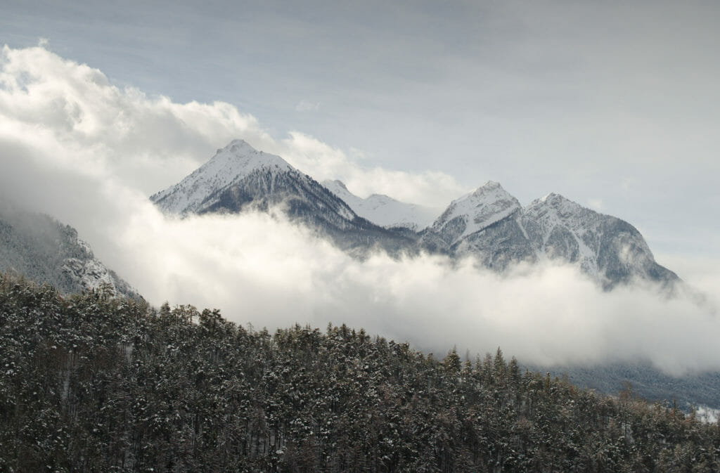 montagnes Briançon