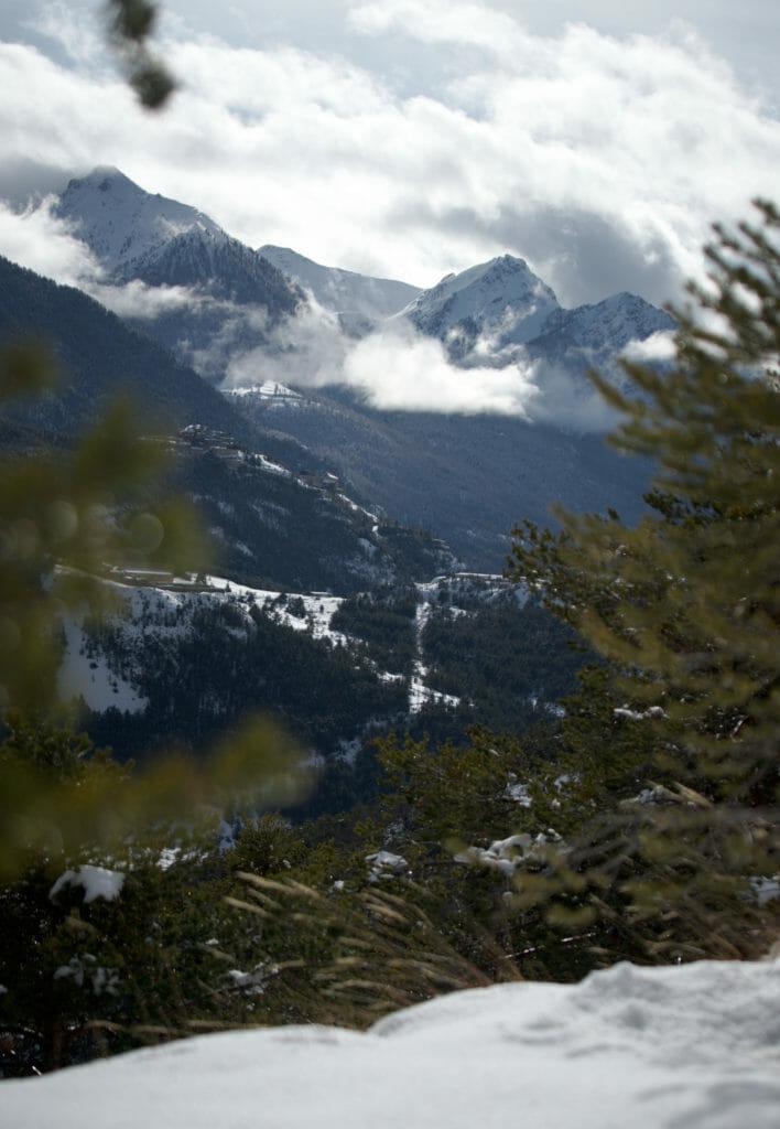 montagnes de Briançon