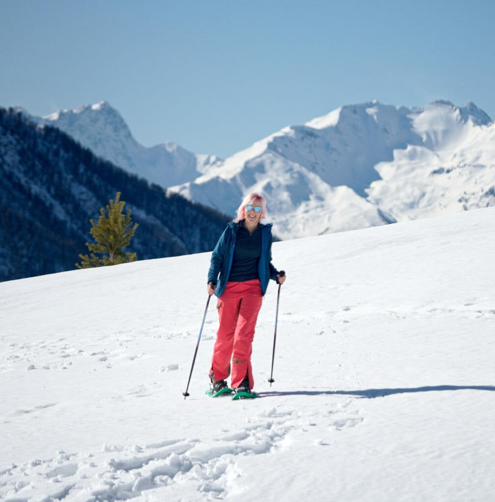 raquettes à neige briançon Hautes-Alpes