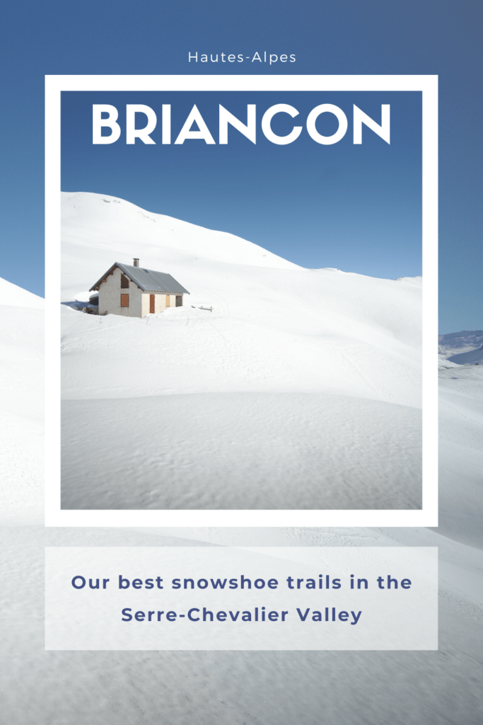 snowshoe hiking in briancon