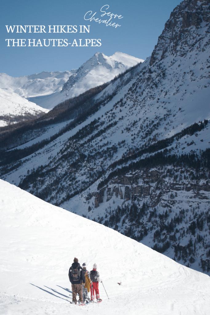 snowshoe trails briancon