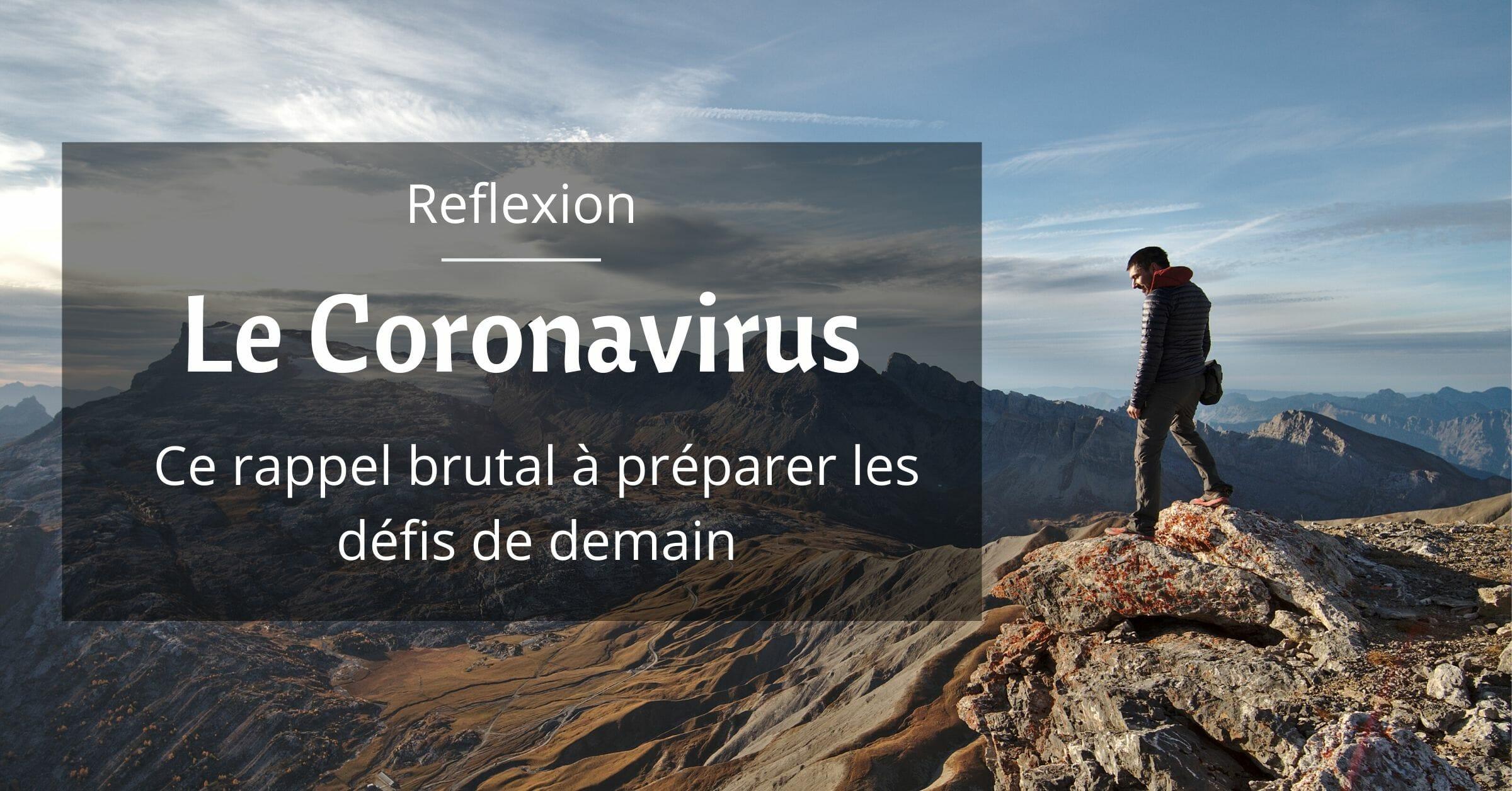 coronavirus mes réflexions