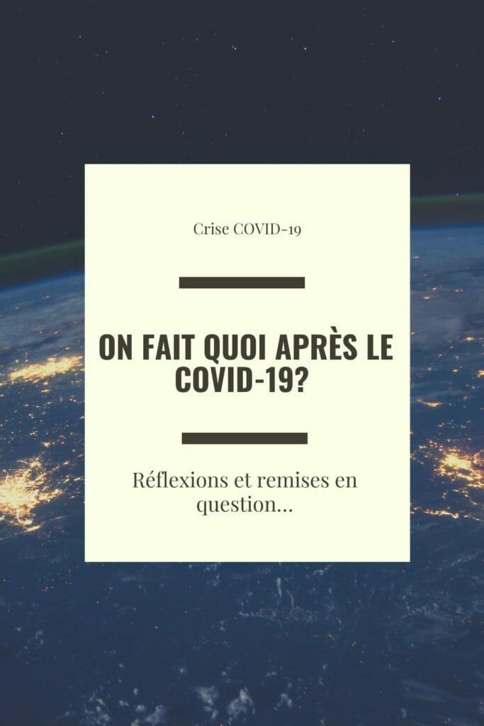 crise covid 19 reflexion